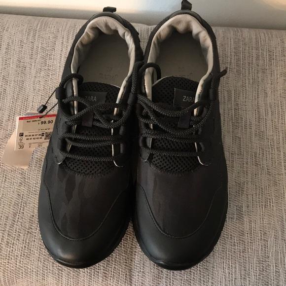 Zara Shoes   Zara Uniform Sneakers